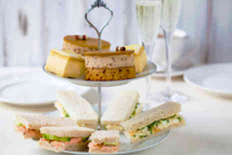 Aroma Café Bar - Afternoon Tea for Two with Prosecco - Save 37%