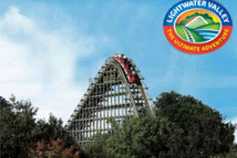 Lightwater Valley Attractions - Entry to Lightwater Valley Theme Park - Save 50%