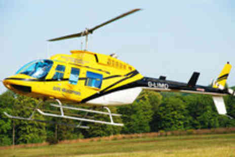 Elite Helicopters - Choice of Helicopter Flight with a Tour of Tangmere Aviation Museum - Save 36%