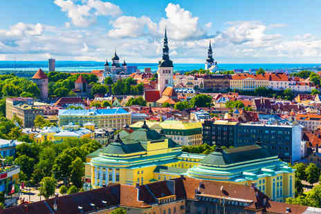 Major Travel - Three nights break to Tallinn Estonia including flights & breakfast - Save 31%