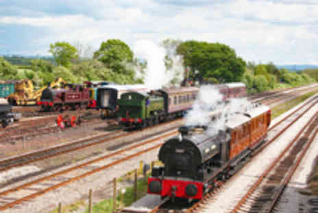 Buckinghamshire Railway Centre - Entry to Buckinghamshire Railway Centre for Two  - Save 36%