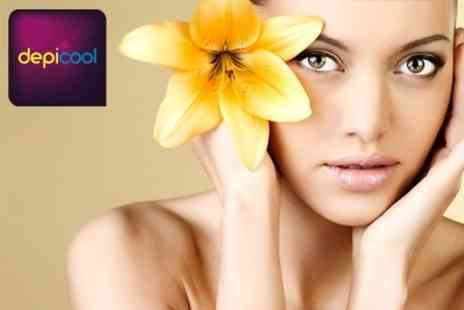DepiCool - 24K Gold Facial Treatment for One £69 - Save 80%