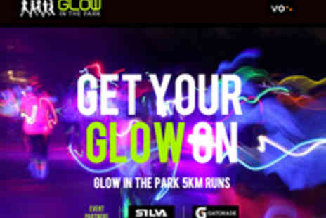 Glow In The Park - Entry to Glow in the Park 5K Run at Bath Racecourse for One - Save 60%