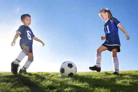 Challenger Sports - Four week TinyTykes football development course for 18 month to Five year olds - Save 95%