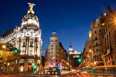 Travel Unravel Holidays - Two Night Madrid Stay with Flights - Save 24%