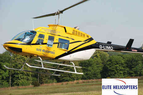 Elite Helicopters - 30 Minute Helicopter Flight Sightseeing Experience for One - Save 52%