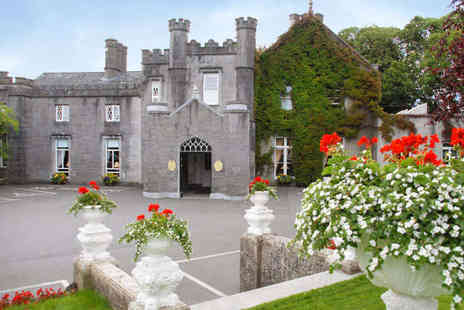 Abbey Hotel - One Night Stay for Two People in a Four Star Roscommon Castle, with Wine and Chocolates on Arrival, Breakfast - Save 54%