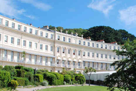 Osborne Hotel - One Night Torquay Hotel Stay for Two, with Breakfast - Save 34%