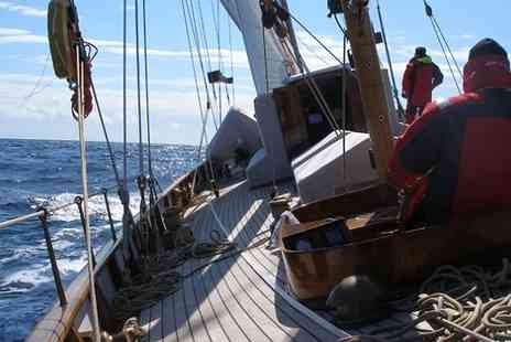 Sailing Day In - Sailing Experience With A Chic Champagne Lunch On Your Luxury Yacht  - Save 53%