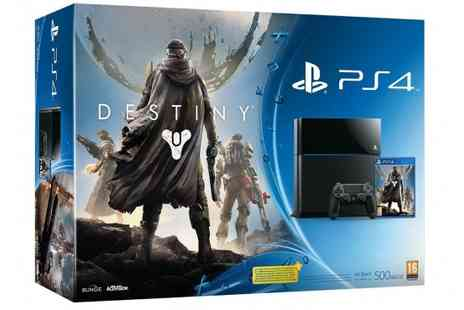 Games Nation - Playstation 4 Destiny Bundle Plus Destiny Console Skin - Save 18%