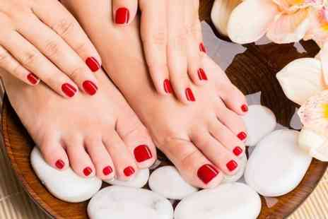USA Star Nails - Shellac Nails For Hands or Feet  or Both - Save 50%