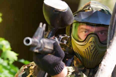 Unreal Paintball - A Full Day of Paintball for Two - Save 88%