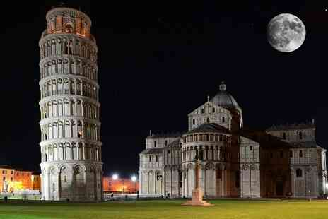 Travel Unravel Pisa Holiday - Two Nights Pisa Break with 3 star Hotel & Return Flights  - Save 69%