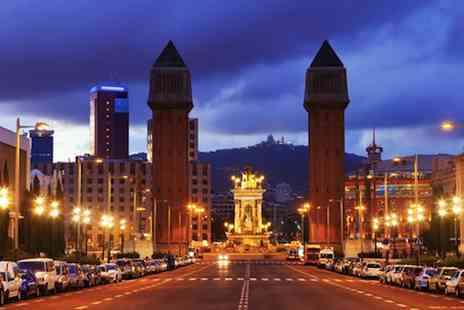 Clear Sky Holidays - Three night central Barcelona getaway staying at the 4 Star Silken Concordia plus flights - Save 50%