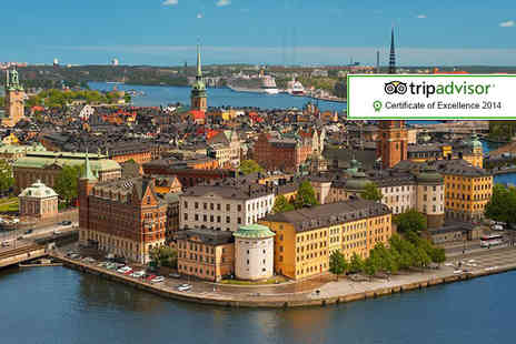 ClearSky Holidays - Two night Stockholm yacht hotel break including flights and breakfast - Save 41%