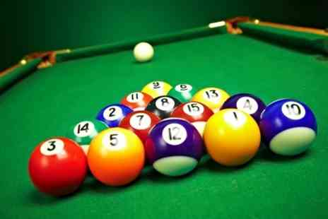 The Ball Room Sports Bar - Two Hours Pool Snooker Plus Nachos and Cheese Platter For Four - Save 57%