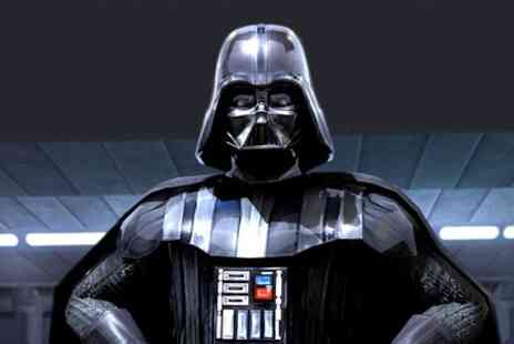 Ginicam - Ticket  to Live Online Interview with David Prowse Darth Vadar - Save 50%
