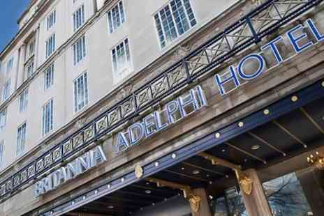 Britannia Hotels Adelphi - Three Course Lunch For Two - Save 50%