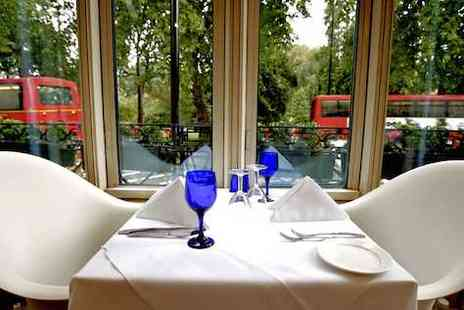 Corus Hotel Hyde Park - Two course meal with wine for two - Save 52%
