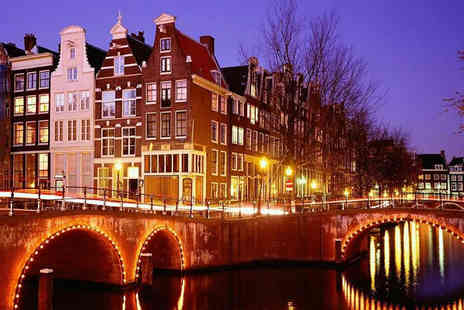 ClearSky Holidays - Two night Amsterdam break including flights - Save 33%