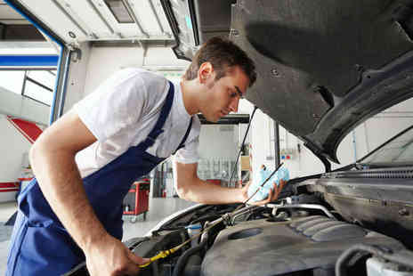 Driving Force Garages - Car Maintenance Package Including Oil Changes, Tyre Rotation, Mechanical Inspection, Puncture Repair, A/C Test, and Two Discounted MOT Tests - Save 52%