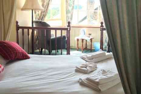 The Ilchester Arms Hotel - Two  Night Stay For Two With Cream Tea - Save 50%
