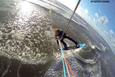 514 Elemental - One Day Introductory Kitesurfing Lesson on Land or Water for One - Save 51%