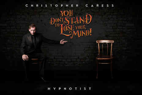 Epstein Theatre - Two tickets to see You Don't Stand to Lose your Mind with Christopher Caress - Save 50%