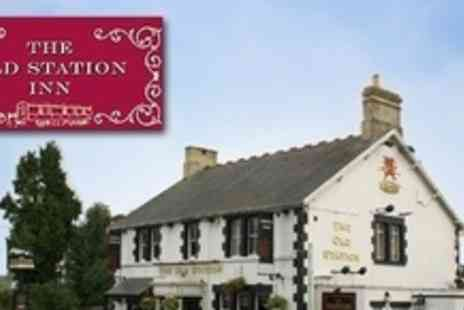 The Old Station Inn - One Night Stay For Two With Bottle of Wine - Save 55%