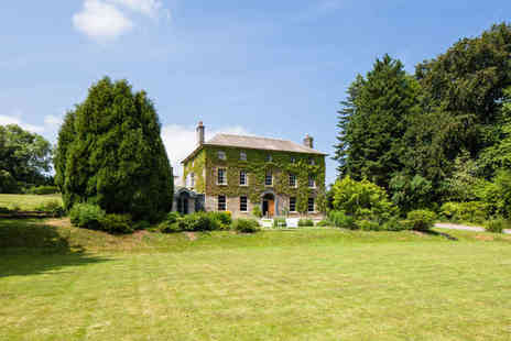 Hammet House - One Night Luxury Pembrokeshire Country House Getaway for Two - Save 55%