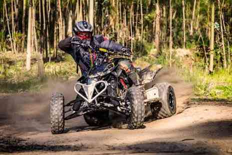 Universal Paintball - 60 minute quad bike experience Plus full safety briefing & equipment for one - Save 50%