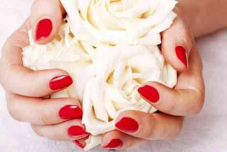 Beauty above - Luxury Manicure or Pedicure - Save 60%