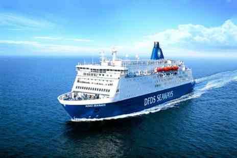 DFDS Seaways - Two Night Mini Cruise For Two With £10 On Board Voucher - Save 51%
