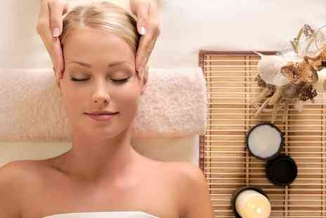 NS Salons St Albans Beauty - Facial and Head Massage  - Save 50%