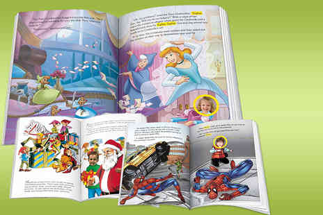 Identity Direct - Kids personalised photo story book in a choice of 6 designs - Save 52%