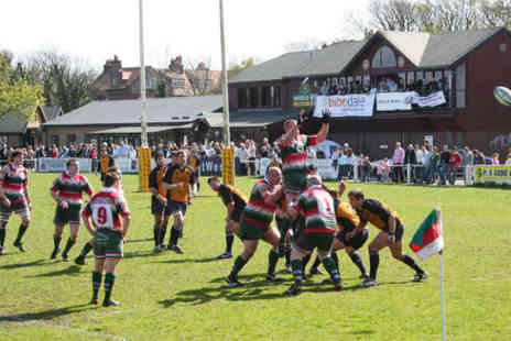 Firwood Waterloo Rugby - Two  Tickets to Rugby Match with Two Course Lunch  and Programme Each - Save 63%
