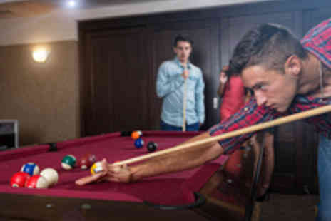 The Ball Room Sports Bar  - Two Hour Snooker or Pool Session for Two with a Pizza to Share - Save 56%