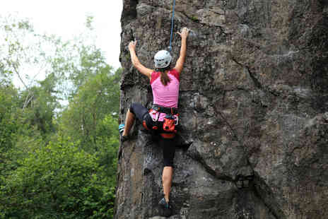 Activity Superstore - Outdoor climbing experience for one at a choice of 6 locations  - Save 34%