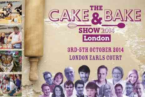 The Cake And Bake Show - Friday Ticket  to The Cake and Bake Show 2014 - Save 50%