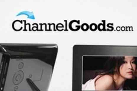 Channel Goods - 7� Digital Photo Frame With 4GB Memory Card - Save 55%