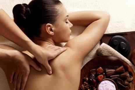 Salon Luxe - Massage With Nail Treatment - Save 50%
