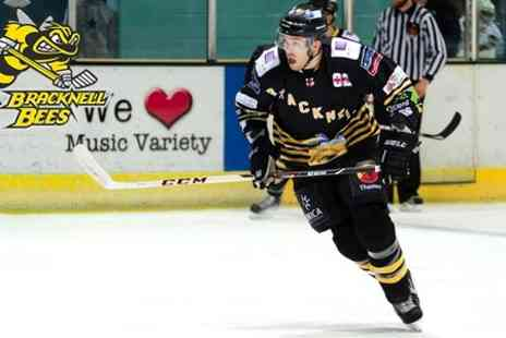 Bracknell Bees - Tickets to Bracknell Bees  For Two Adults - Save 48%