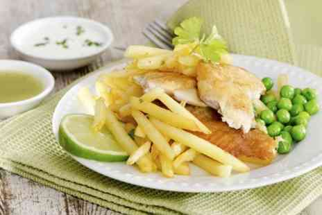 Crispy Cod Fish Bar - Takeaway Fish and Chips For One  - Save 34%