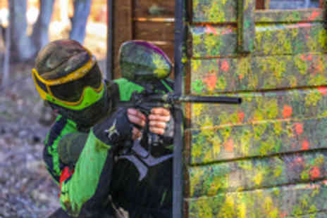 Mayhem South East - Paintballing for five with 100 Paintballs Each - Save 89%