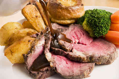 The Lock and Key - Traditional Sunday Carvery with all the Trimmings for Two - Save 53%
