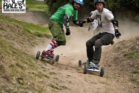 Hales Board and Bike Park - Two Hour Mountain Boarding Lesson - Save 60%