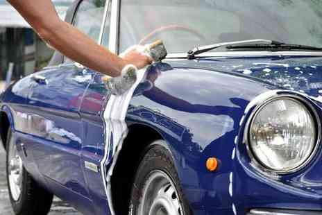 The Best Hand Car Wash - Full Gold car valet service including internal and external clean, wax T cut and engine wash - Save 52%