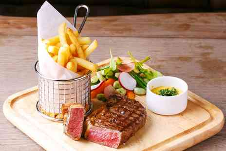 The Corner House - Two Course Lunch for two with Drinks - Save 33%