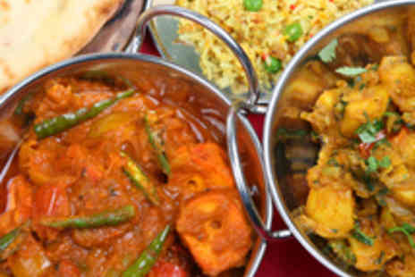 Eastern Eye - Traditional Two Course Indian Dining for Two - Save 44%