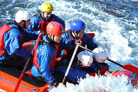 Tees Barrage International - White Water Rafting Experience for One - Save 50%